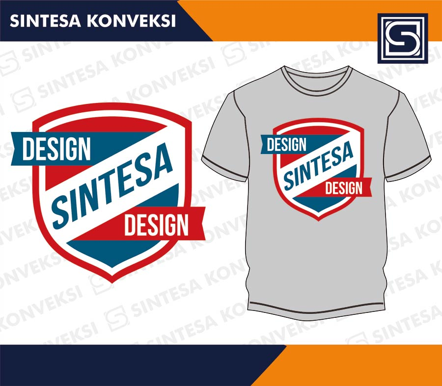 Desain Kaos Keren Simple