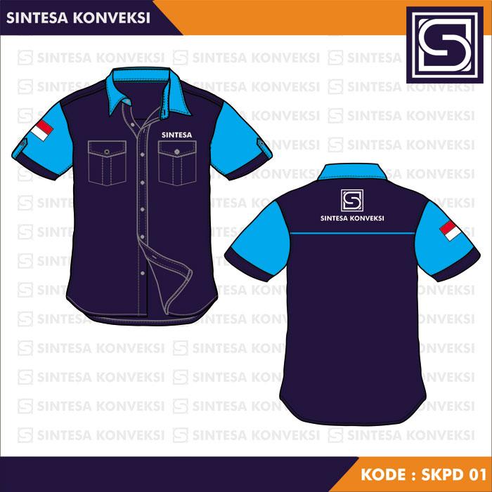 Desain Baju Seragam Kerja keren (1)