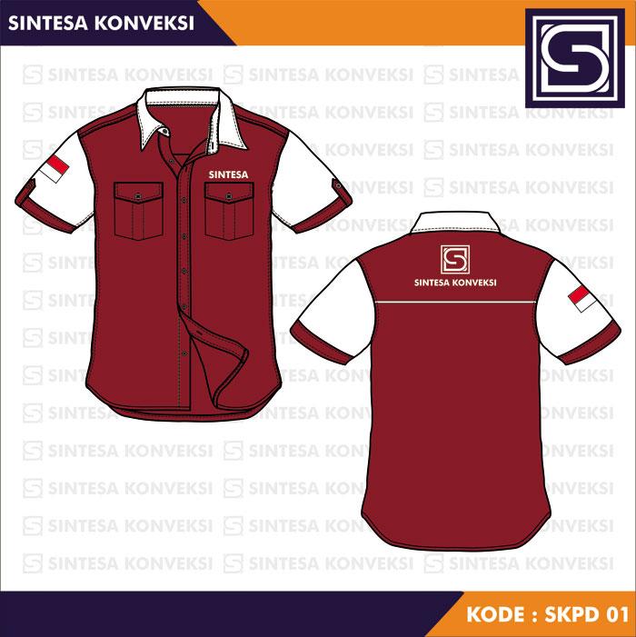 Desain Baju Seragam Kerja keren (17)