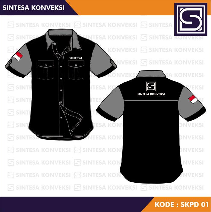 Desain Baju Seragam Kerja keren (2)