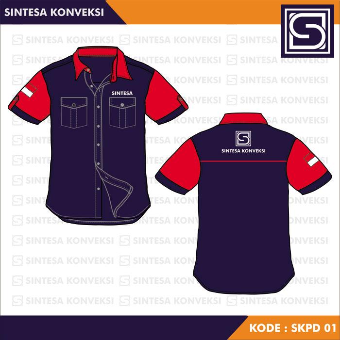 Desain Baju Seragam Kerja keren (23)
