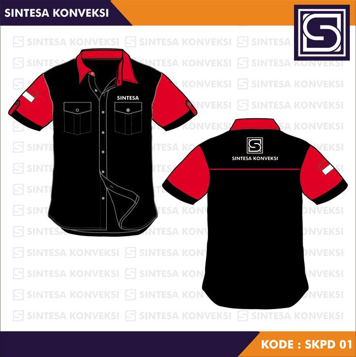 Desain Baju Seragam Kerja keren (3)