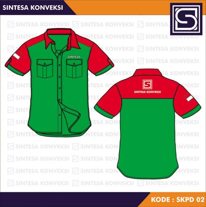 Desain Kemeja Kerja Code SKPD - 02 a (1)
