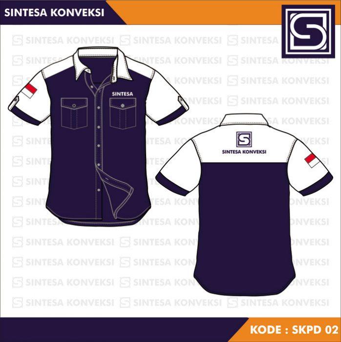 Desain Kemeja Kerja Code SKPD - 02 a (3)