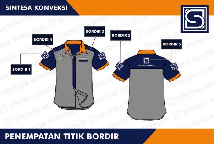 desain baju PDH -3