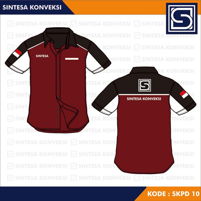 desain baju seragam terbaru