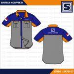 Desain Baju Seragam Kerja 2020