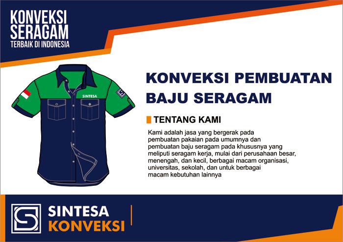 jasa pembuatan baju seragam PDL