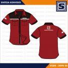 Baju Kantor Keren Code SKPD 08 – Warna Marun Hitam