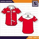 Baju Kantoran PDH Code SKPD 12 – Warna Merah Putih