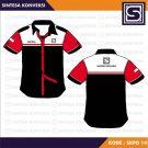 Baju Kerja PDH Terbaik Code SKPD 14 – Warna Hitam Merah Putih