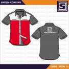 Baju PDH Kerja Code SKPD 13 – Warna Merah Putih Abu