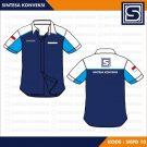 Baju PDH Komunitas Code SKPD 10 – Biru Tua, Muda Dan Putih