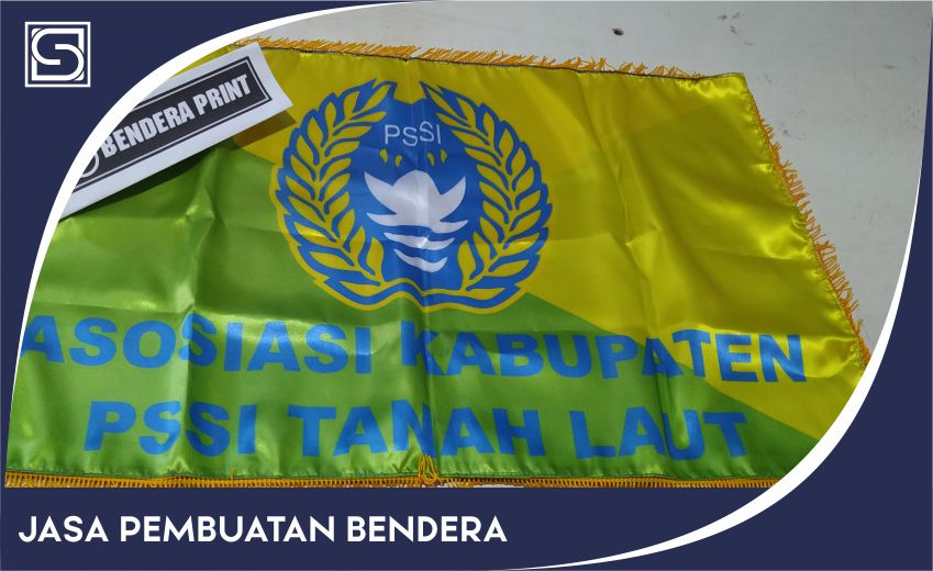 cetak bendera