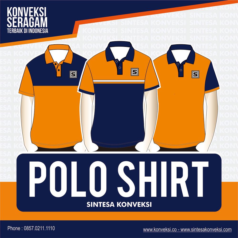 desain polo shirt