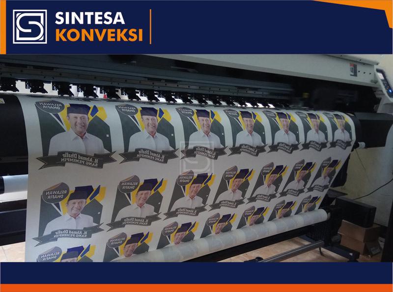Kaos Partai Printing