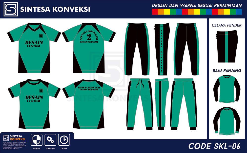 baju olahraga SMP