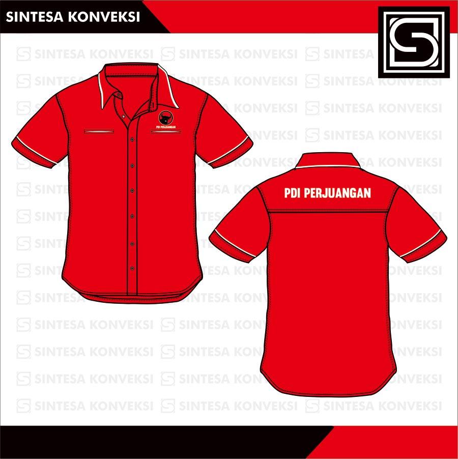 baju seragam kemeja pdi perjuangan (1)