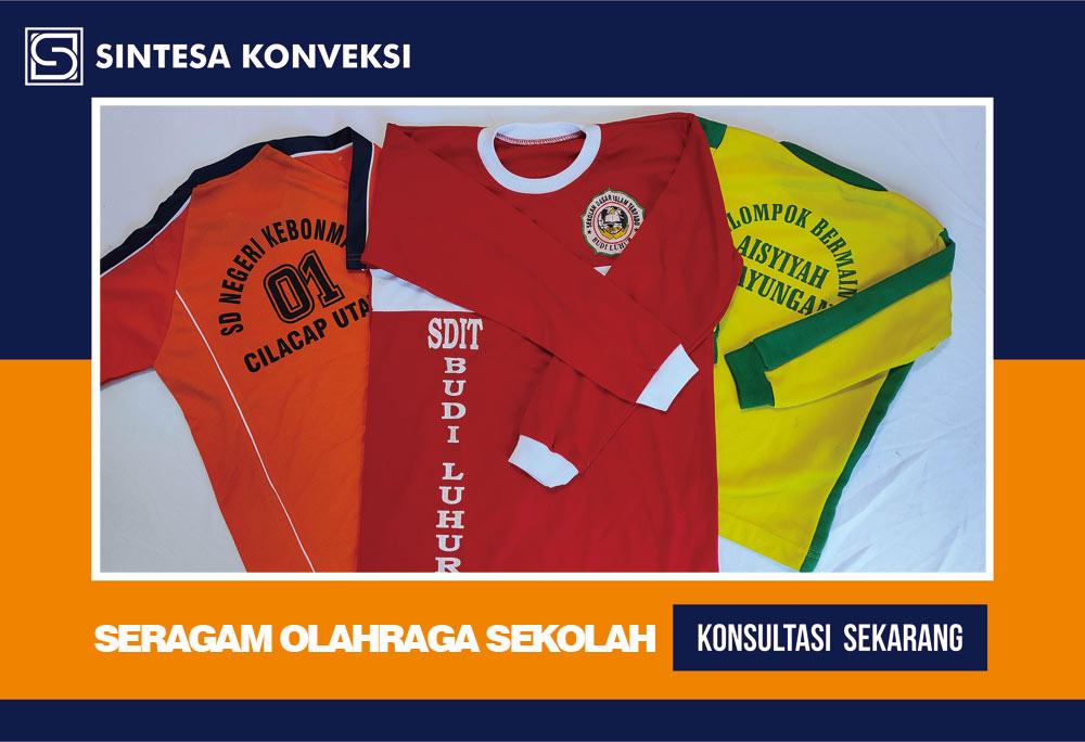seragam olahraga SD murah